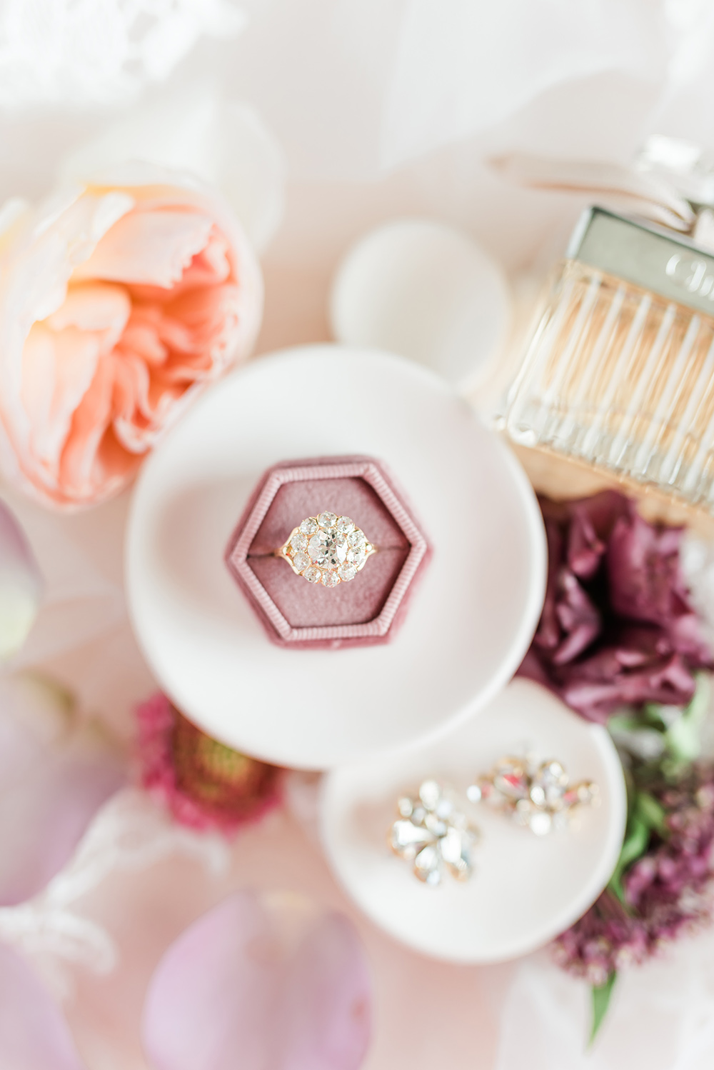 Romantic Estate Styled Shoot on Apple Brides