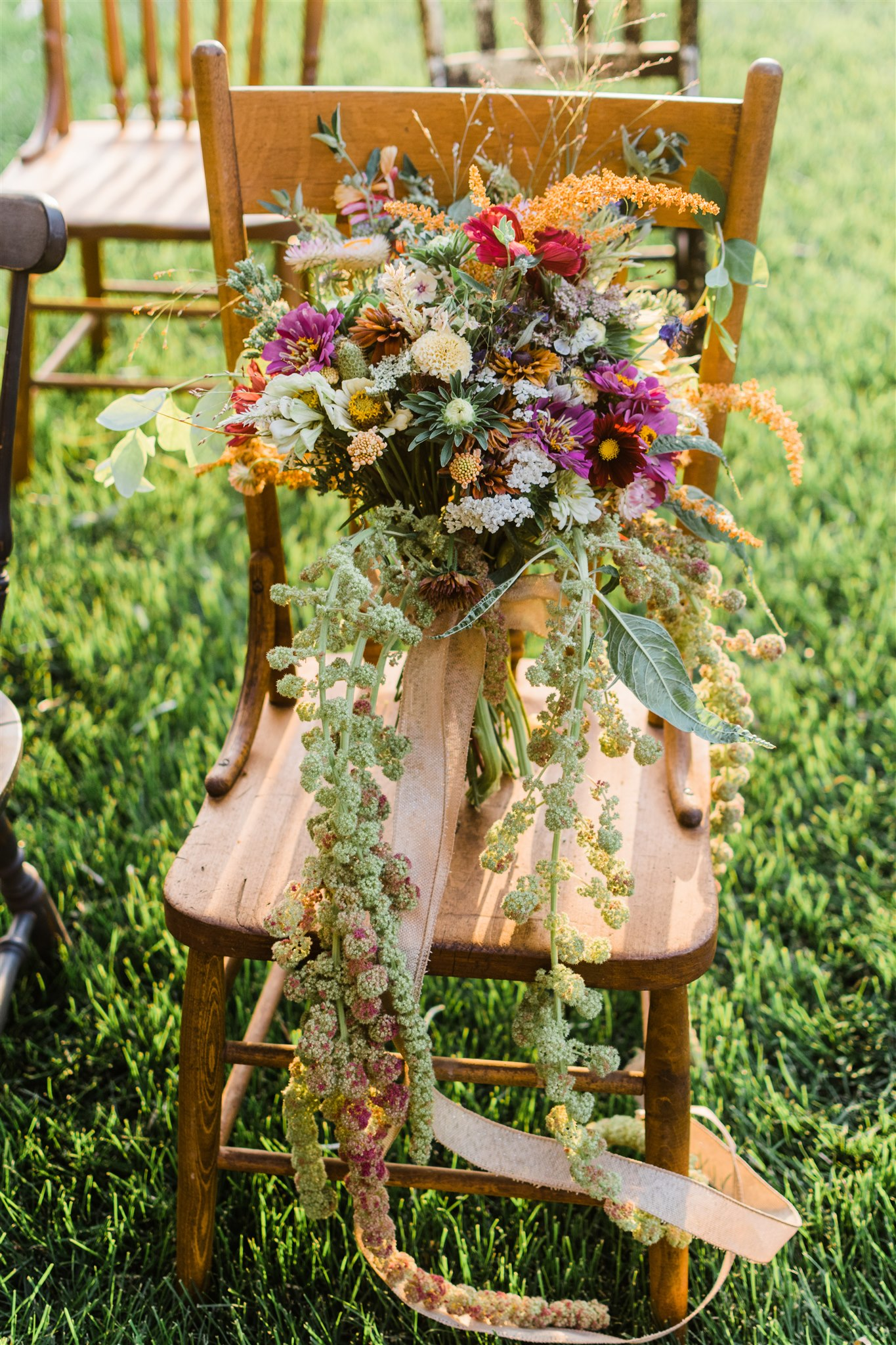 Wildflower Styled Intimate Wedding on Apple Brides
