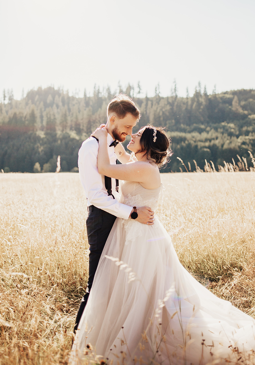 A Stunning Summer Elopement In The Countryside