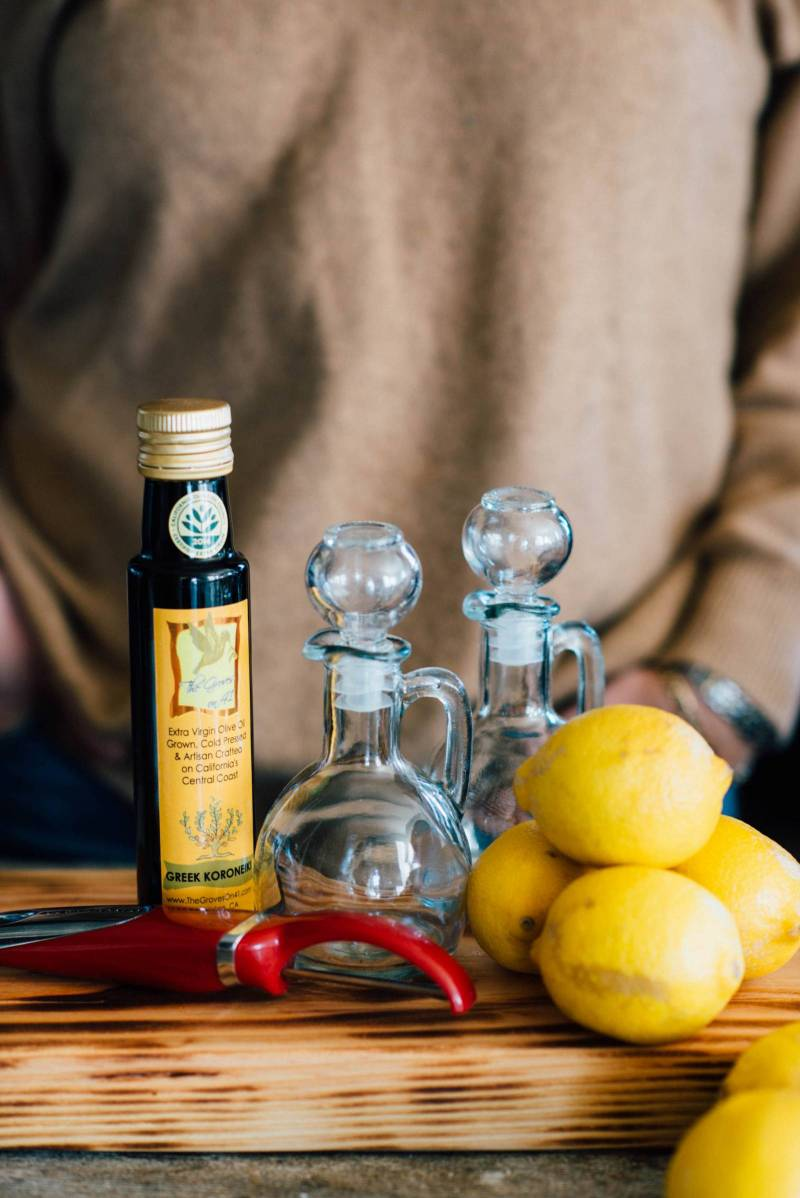DIY Lemon Infused Olive Oil Favor | San Luis Obispo DIY Project