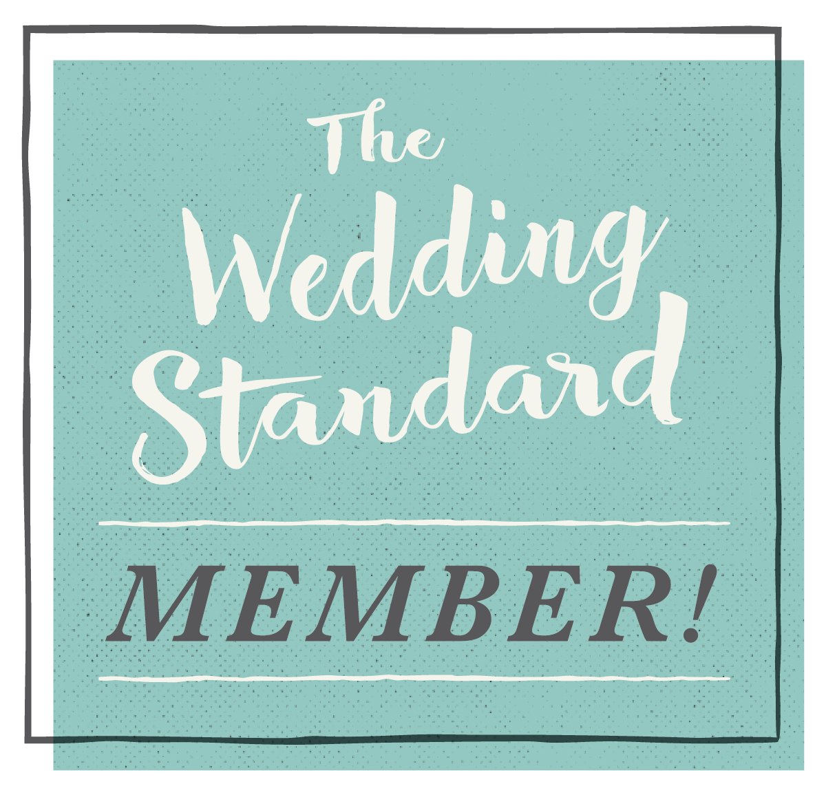 The Wedding Standard Member logo Image