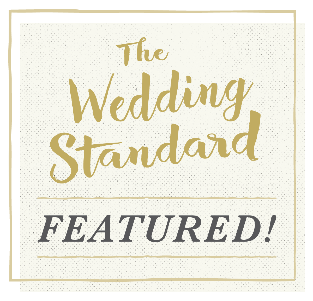 The Wedding Standard Featured Logo Image