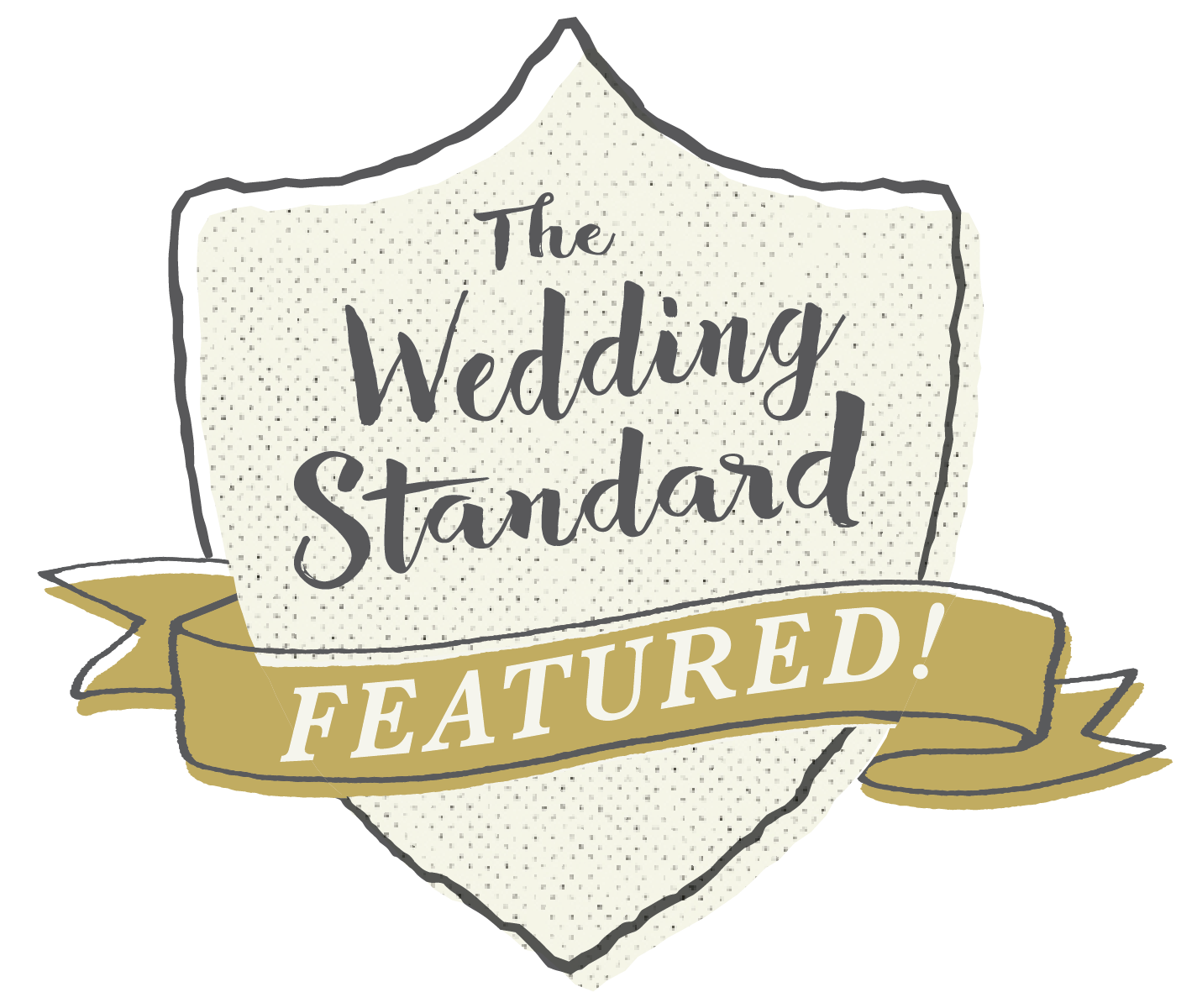 The Wedding Standard Featured Logo