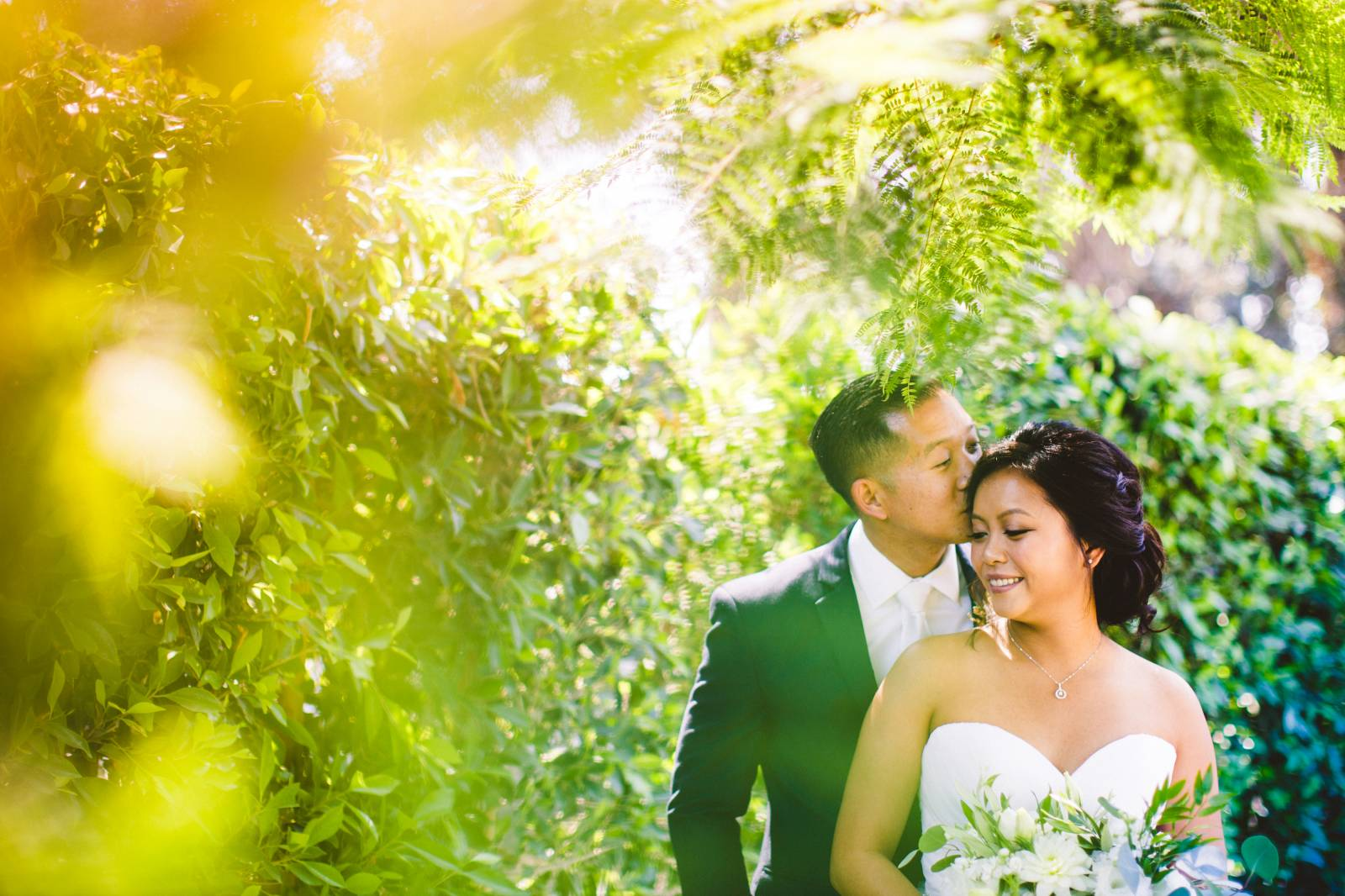Wedding Couple at Tierra Rejada Ranch Wedding Venue