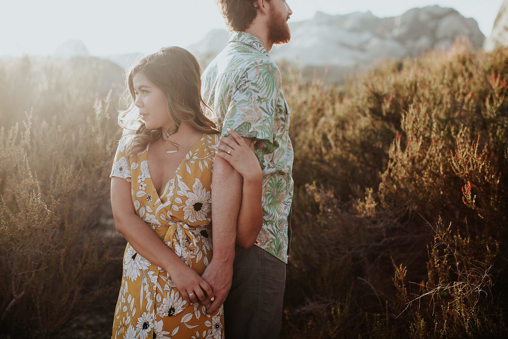Fun Loving Couple for Engagement Shoot - Piedra Blancas | The Wedding Standard