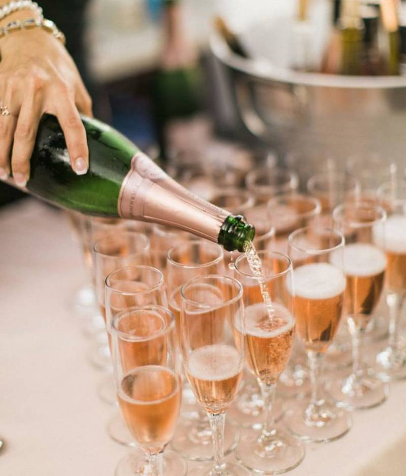 Serving Wine in Glasses at Edna Valley Wineries | The Wedding Standard