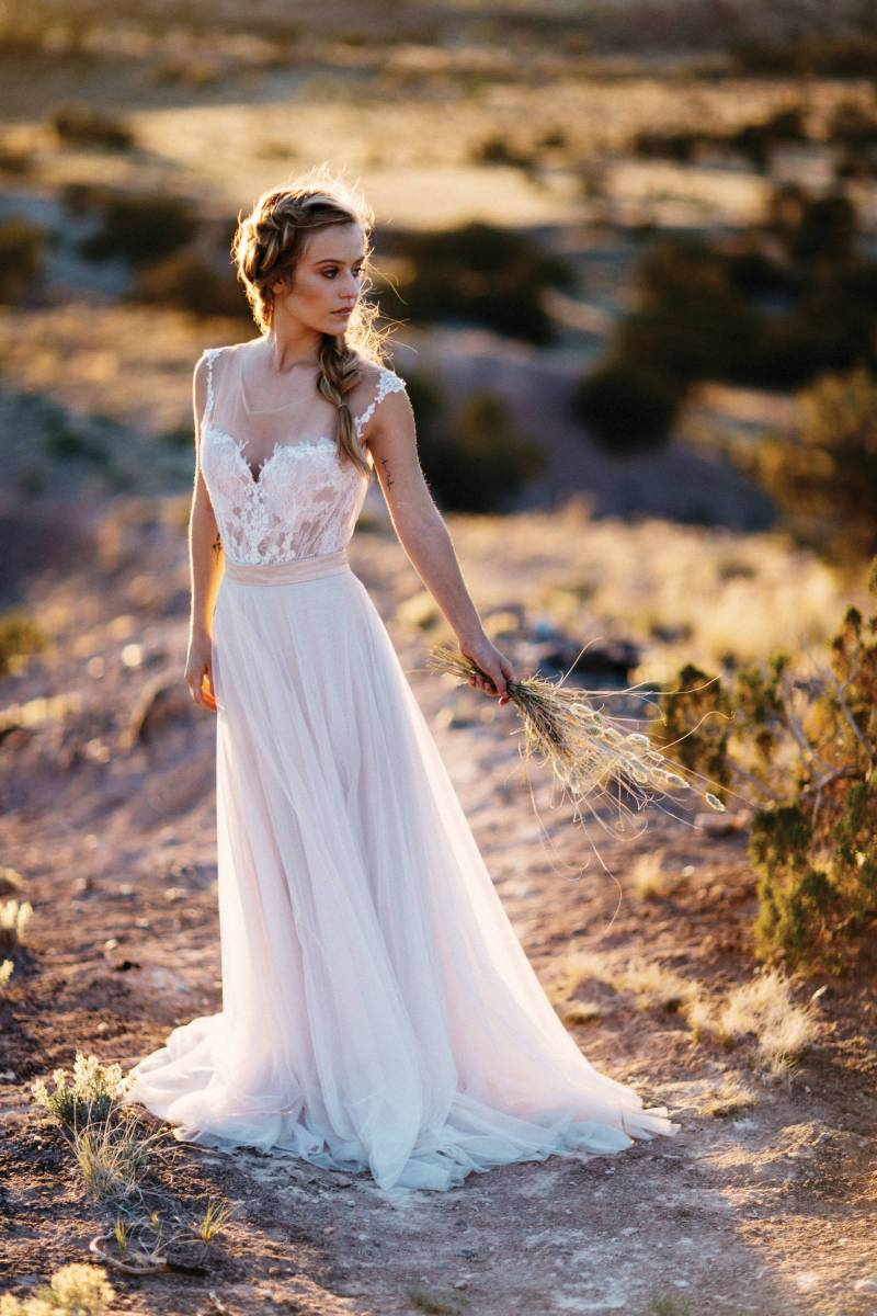 The Perfect Wedding Gowns for the Bohemian Bride