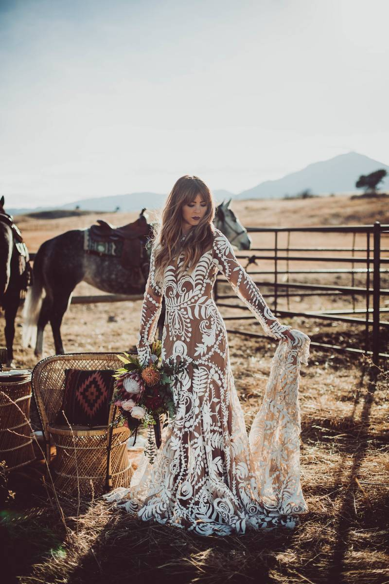 Flatirons Vista Trailhead Bridals Boulder Styled Shoot
