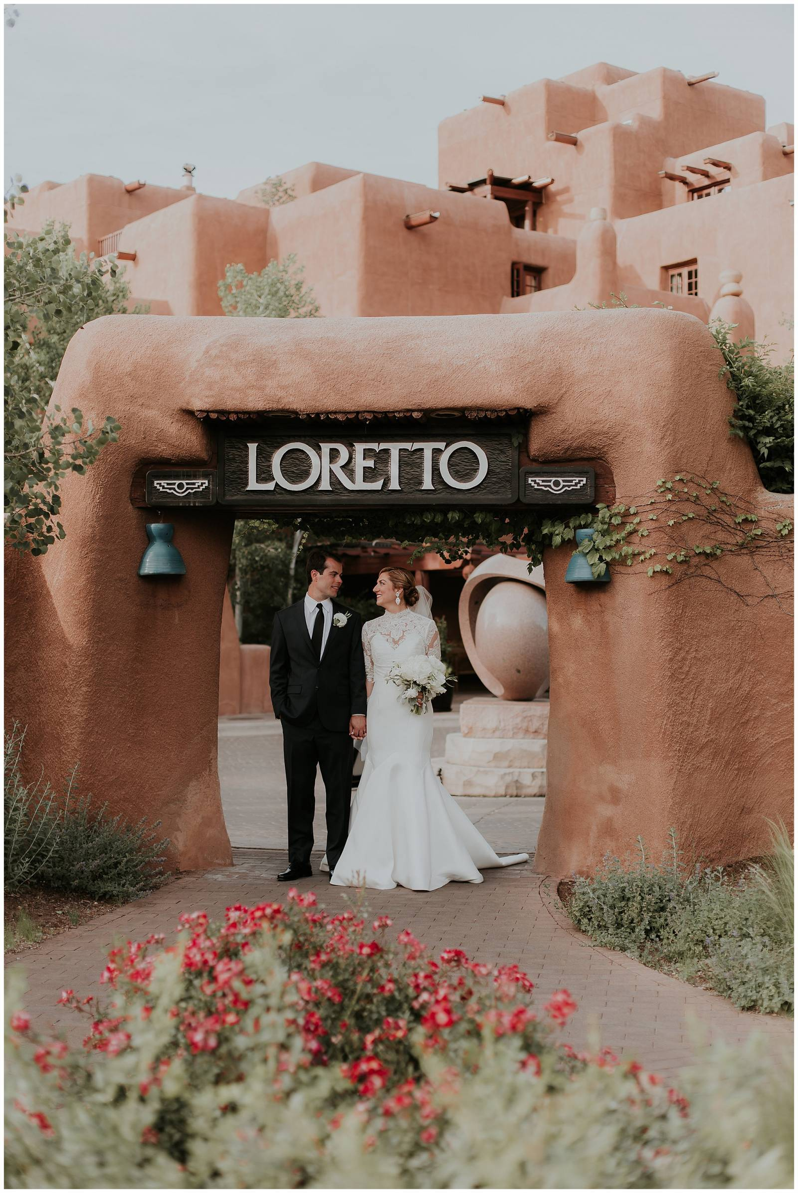 New Mexico inspired wedding at the Inn and Spa at Loretto