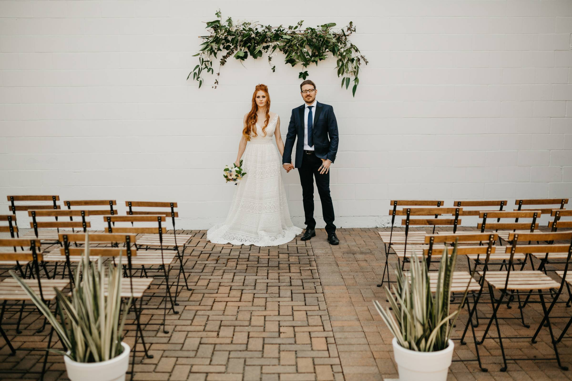 styled wedding shoot | urban minimalistic wedding designed by Emma McCormick - Creative Planning + P