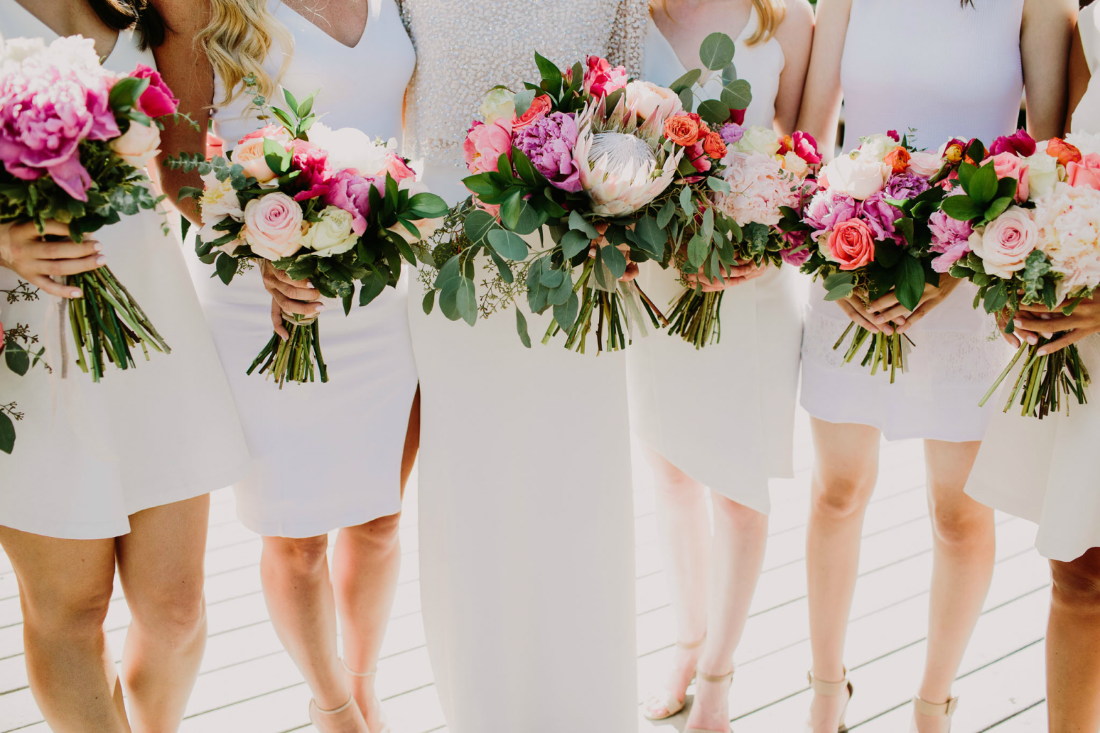 spring wedding bouquets designed by Heirlooms