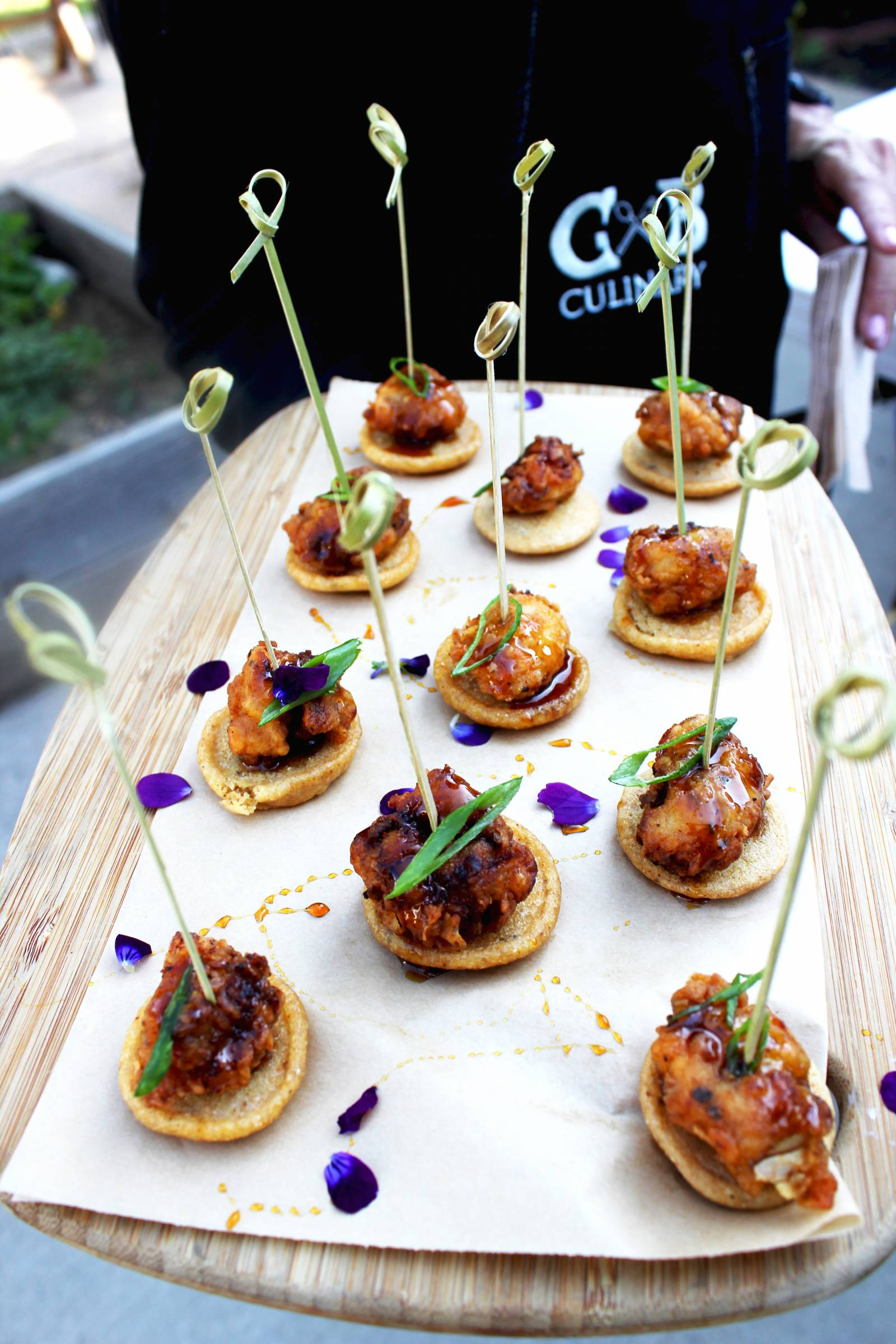appetizers | wedding reception food inspiration made by GB Culinary