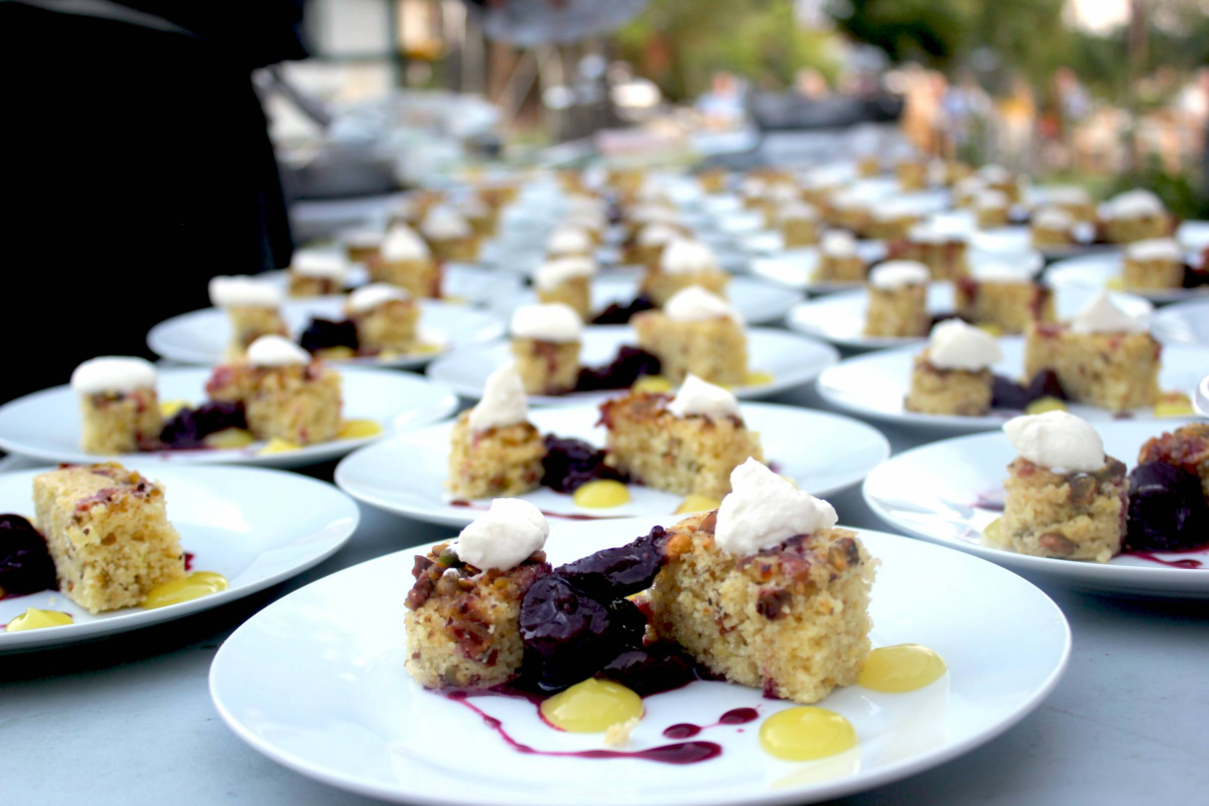 first course | wedding reception food inspiration made by GB Culinary