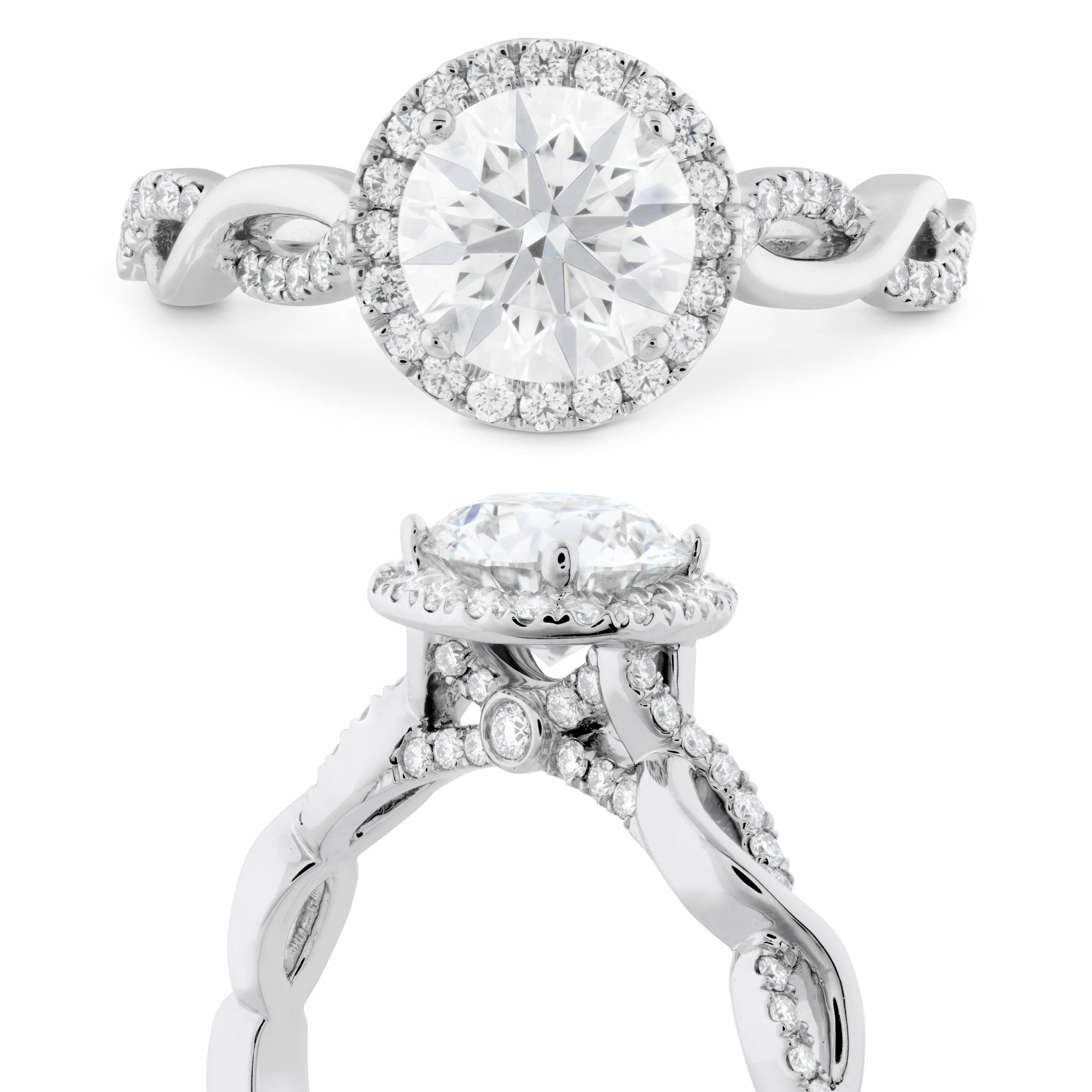 Walters & Hogsett Jewelers diamond engagement ring