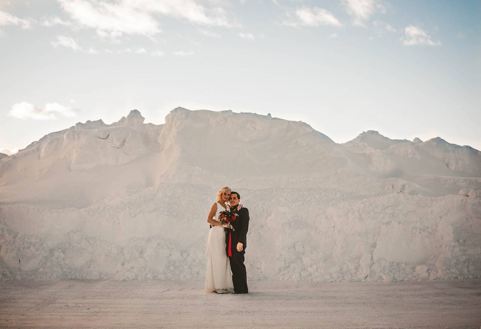 southwestern inspired wedding portrait by 40 Watt Photo