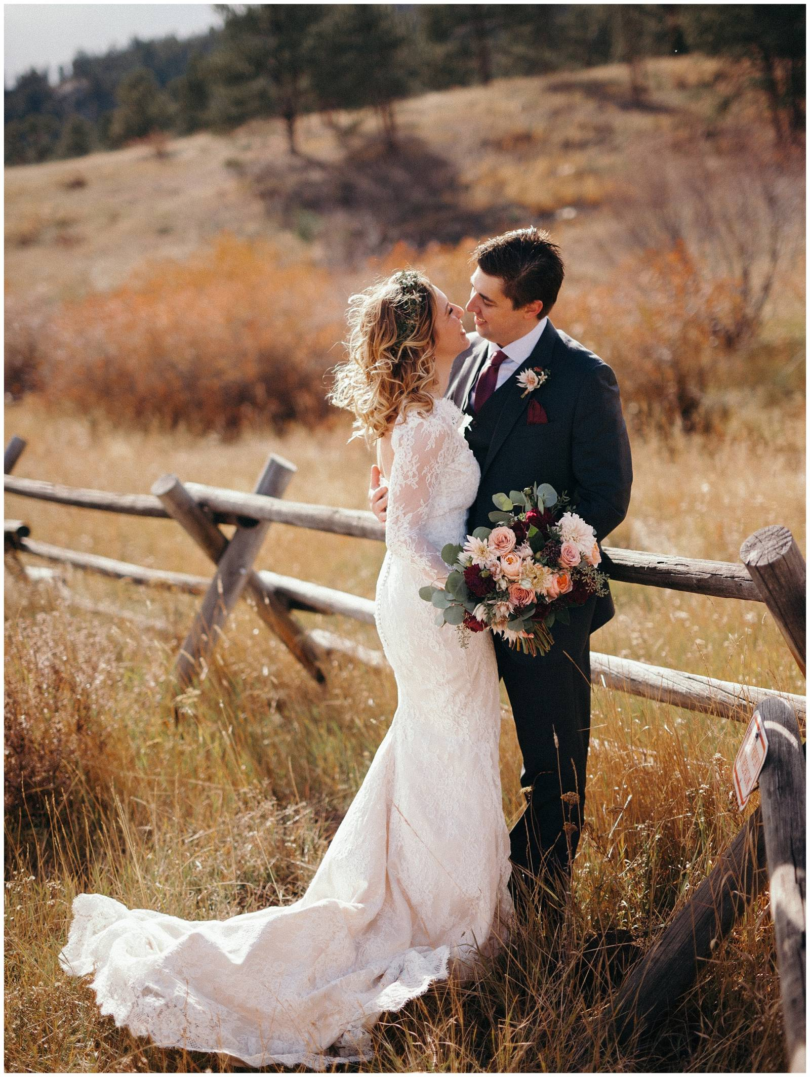 Rocky Mountain Colorado field wedding planned by root + gather events