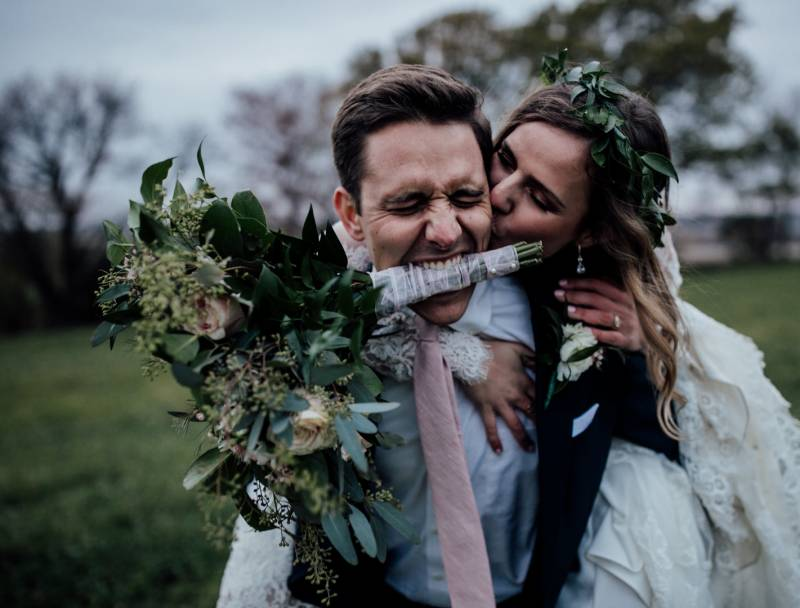 Jaclyn Dickens Photography | outdoor wedding photo