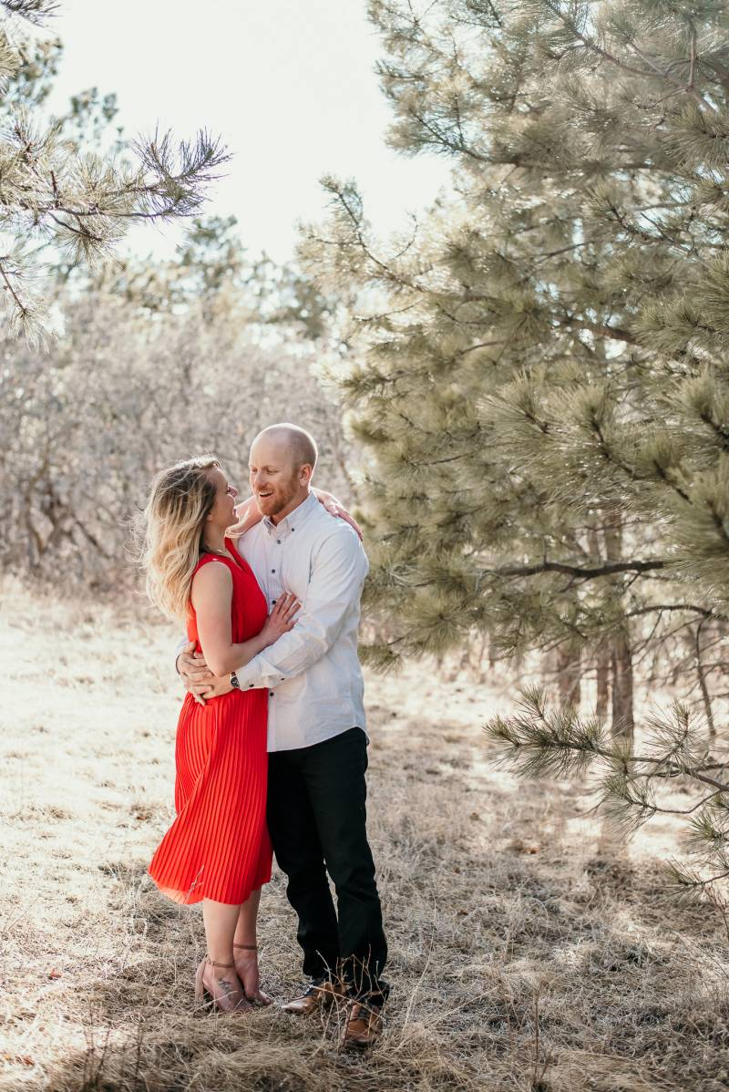 engagement session captured by Colorado photographer Mariana Ziegler Photography