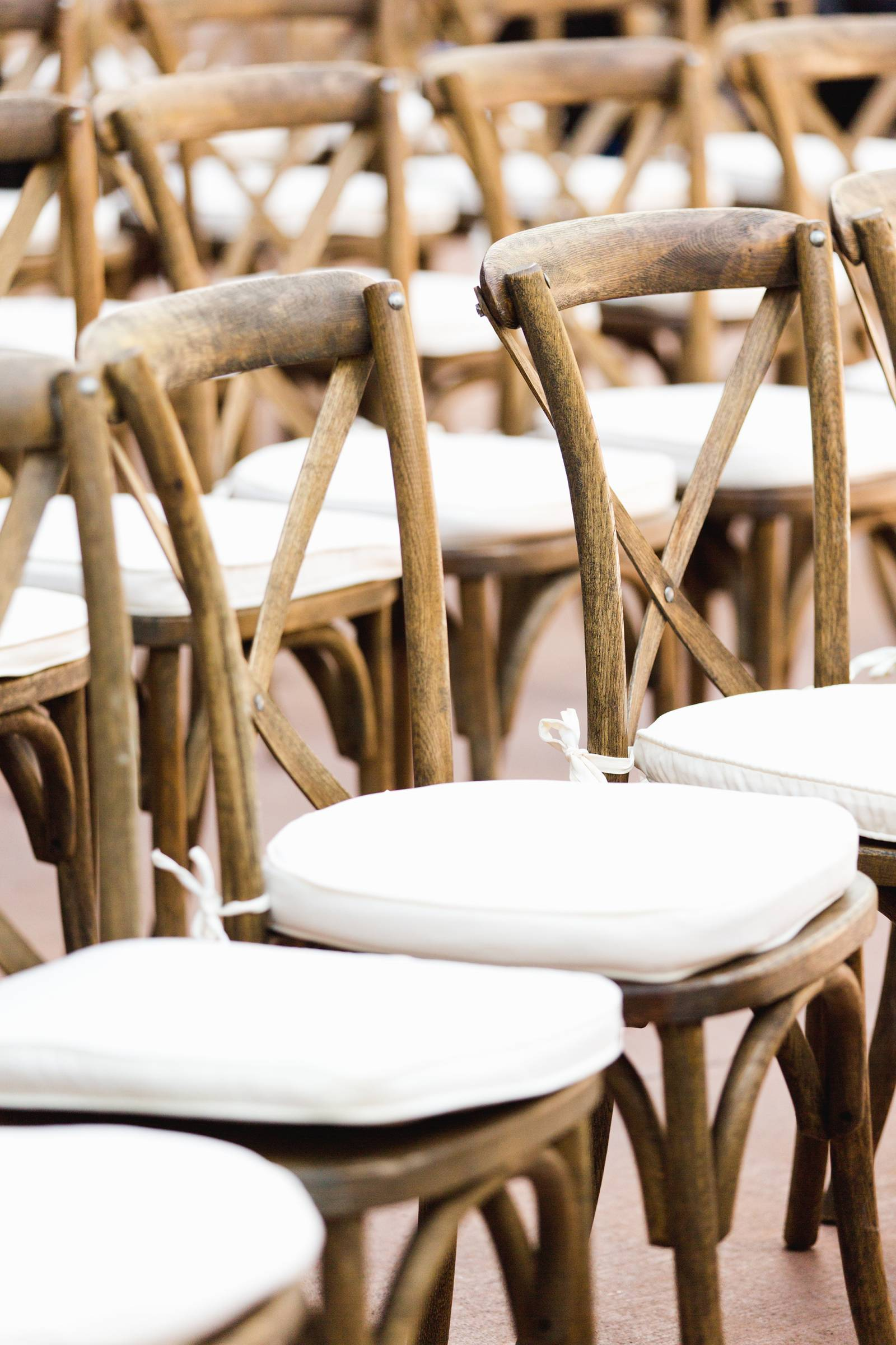wedding ceremony chairs | classy Rocky Mountain wedding in Vail, Colorado
