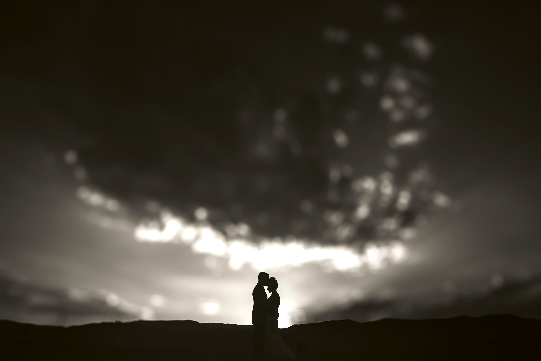 wedding portrait of bride and groom | wedding photo captured by Montana wedding photographer Mudshin