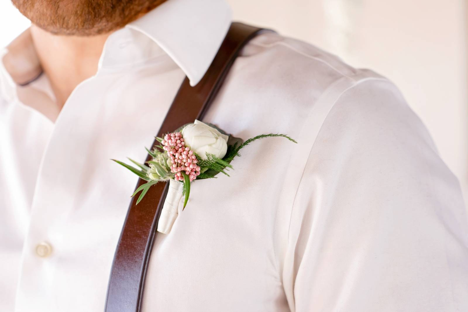 boutonniere | ballet wedding inspiration captured by Albuquerque wedding photographer Coryn Kief