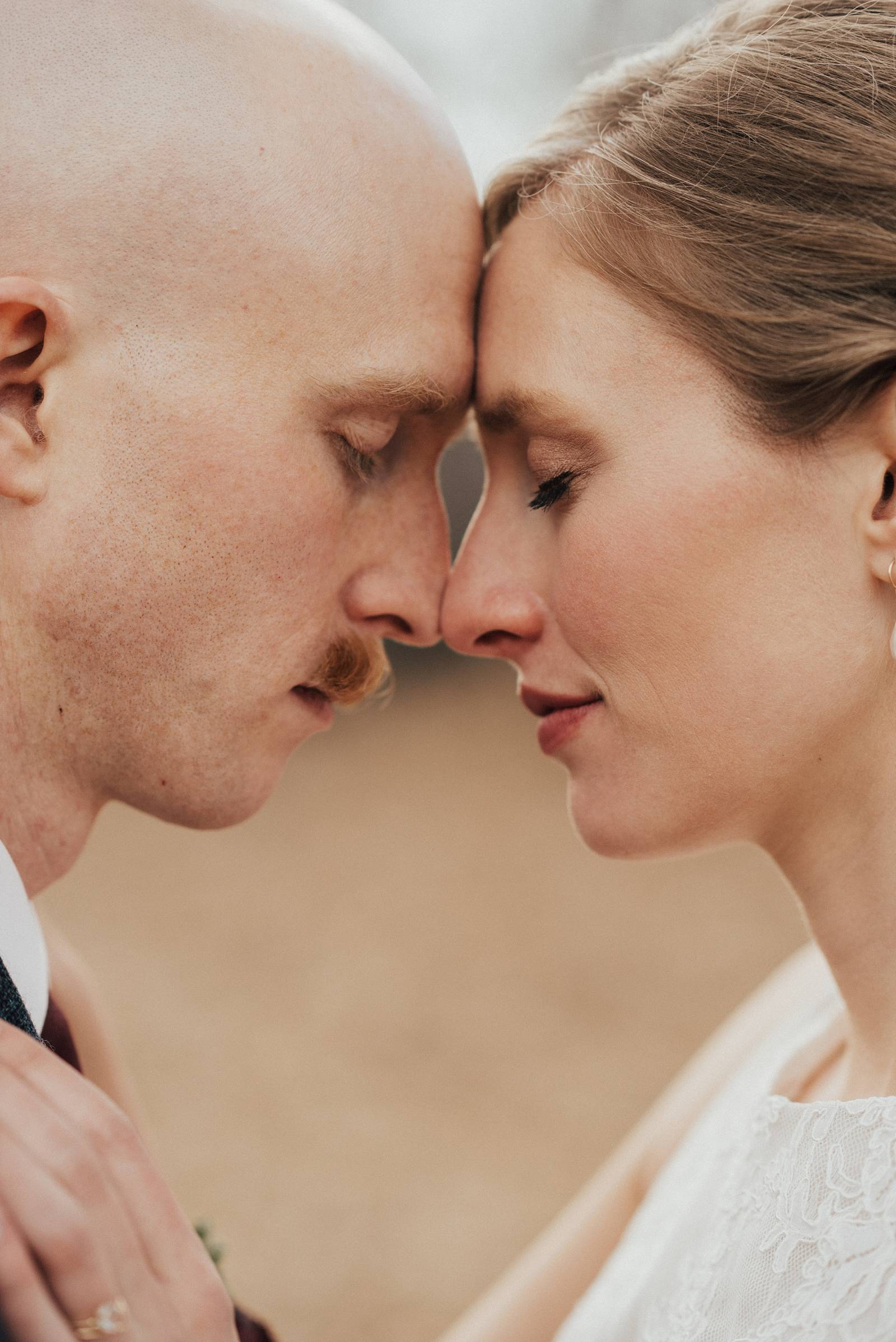 wedding portrait of bride and groom | Colorado wedding inspiration