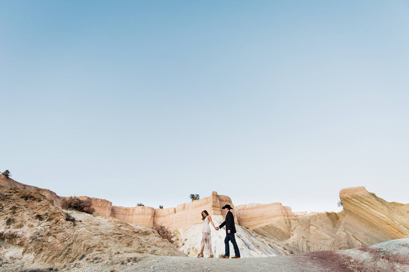 Southwestern summer engagement inspiration captured by New Mexico Wedding Photographer, Arielei Kinz