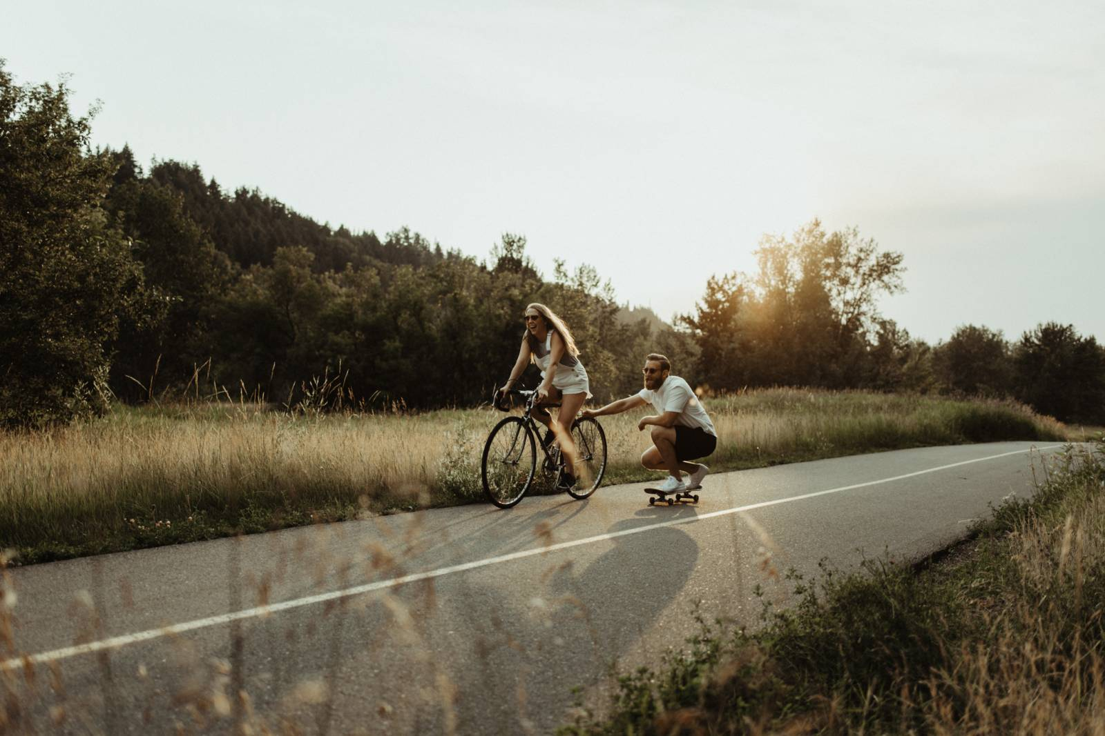 Summer Rocky Mountain Engagement Inspiration | Calgary, Alberta