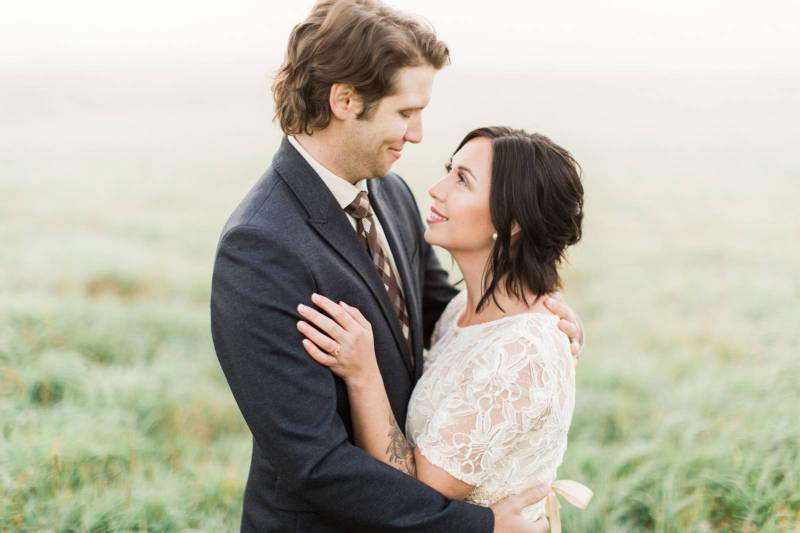 8 Non Religious Wedding Readings For Couples With Taste: Morning Mist Elopement In Nova Scotia