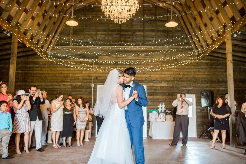 Dancing At One Of The Central Florida Barn Wedding Venues