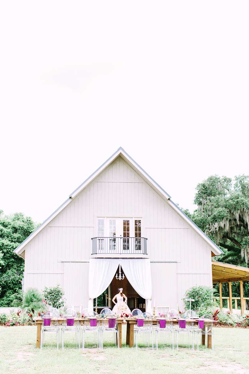 Central Florida Barn Wedding Venues