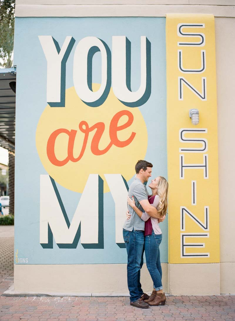 You are my sunshine in wall mural in Central Florida