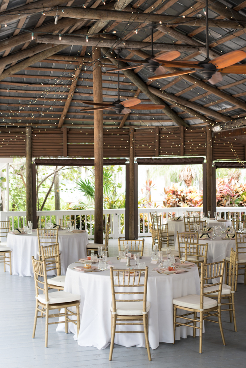 wedding reception space at Paradise Cove Orlando