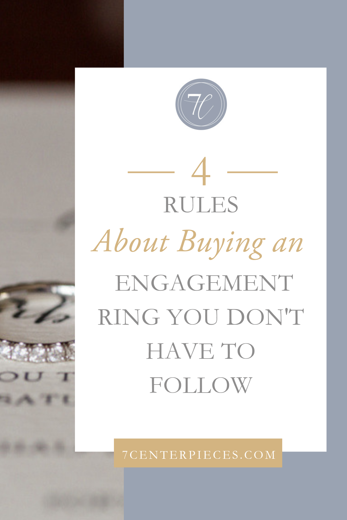 4 Rules About Buying an Engagement Ring You Don't Have to Follow
