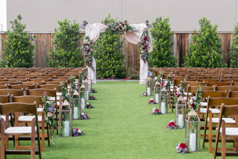 Mopac Event Center Outdoor Ceremony Space