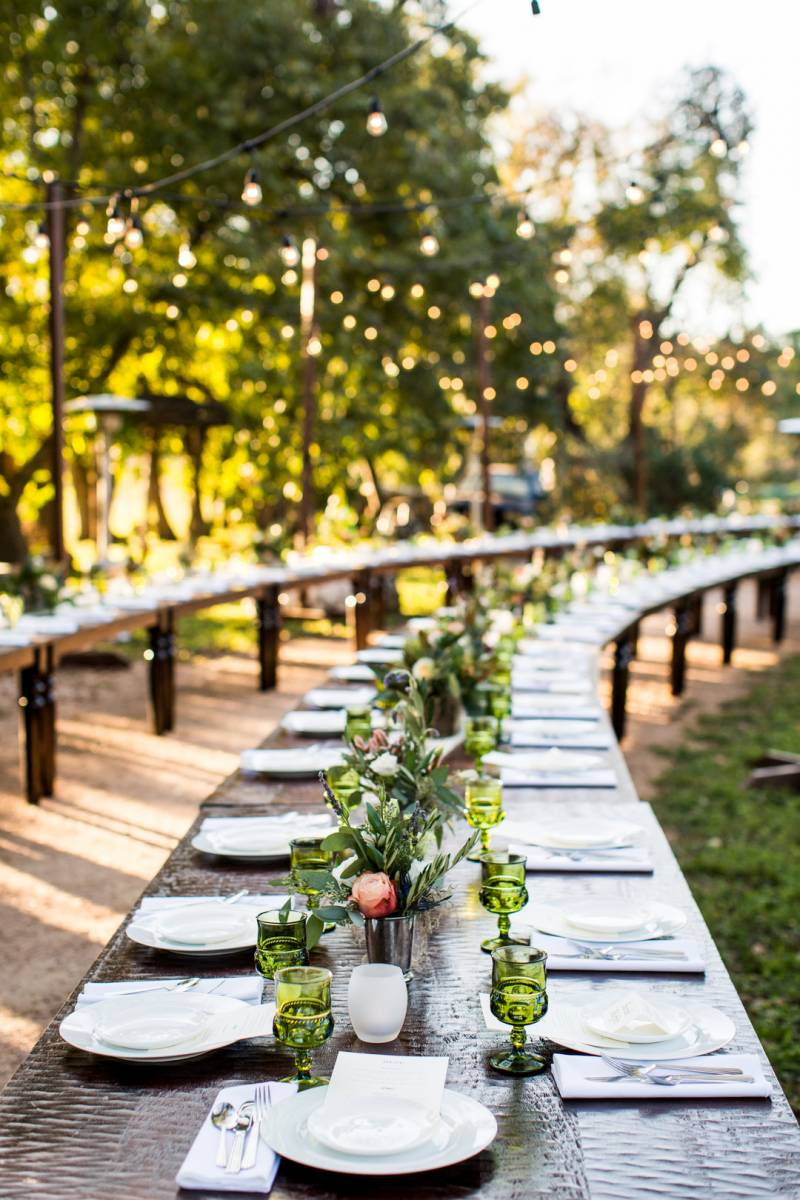 Long reception tables