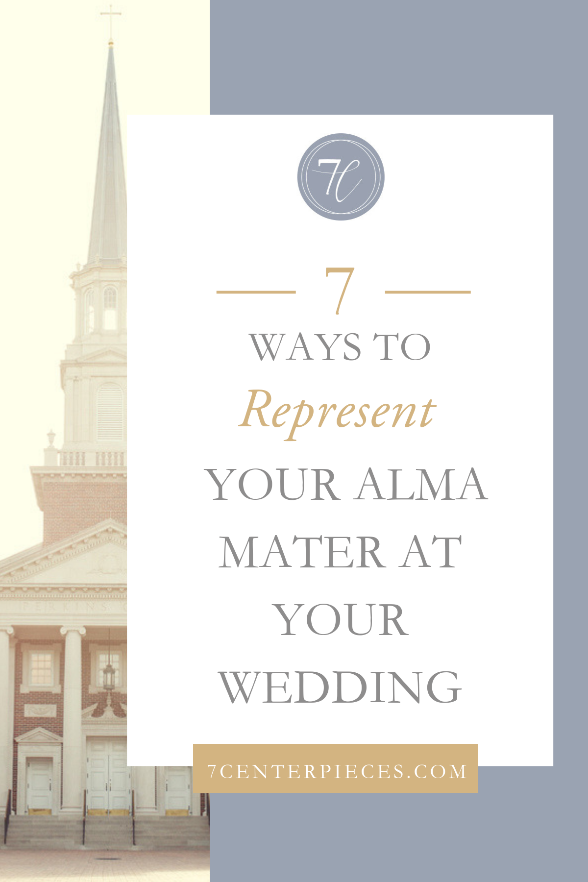 7 Ways to Represent Your Alma Mater at Your Wedding