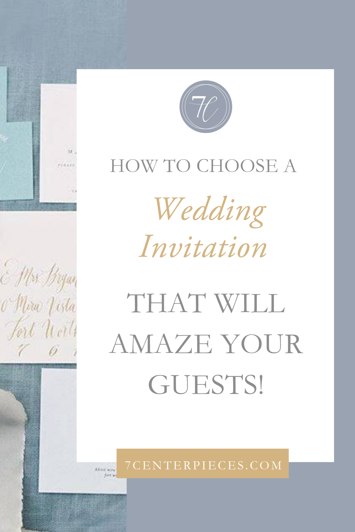How to Choose a Wedding Invitation that Will Amaze Your Guests!