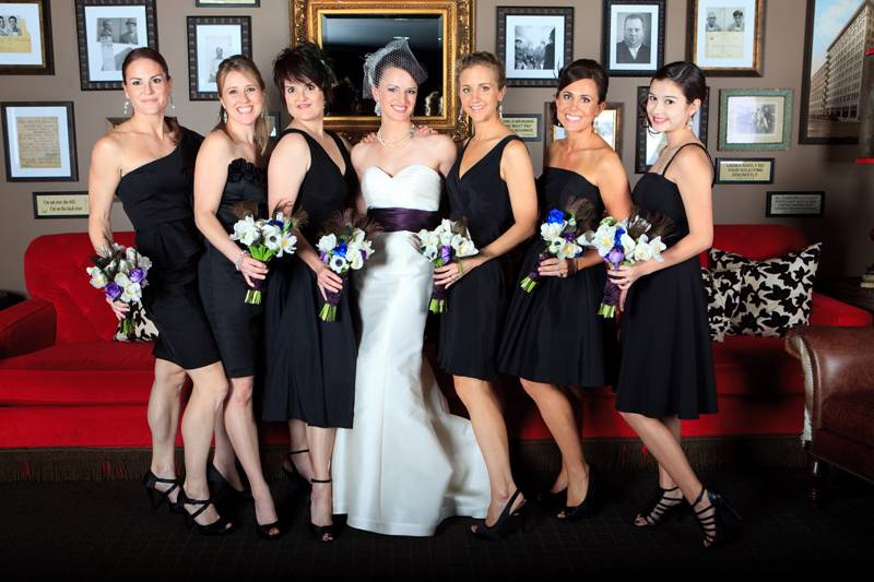 Stylish Bridesmaids Dresses