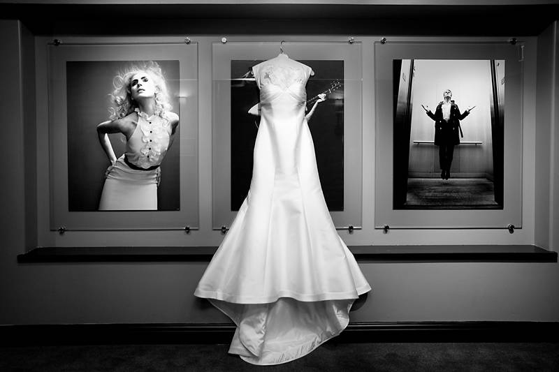 Stunning Satin Wedding Dress