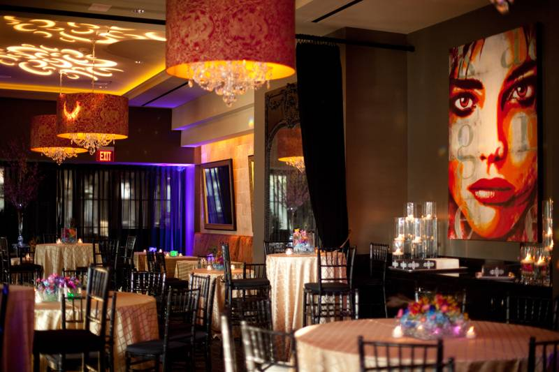 Modern Wedding Reception Venue