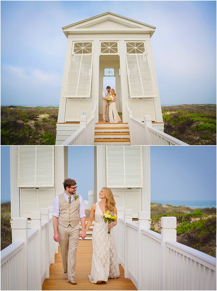 South Padre Island Beach Wedding By Palacios Photography South