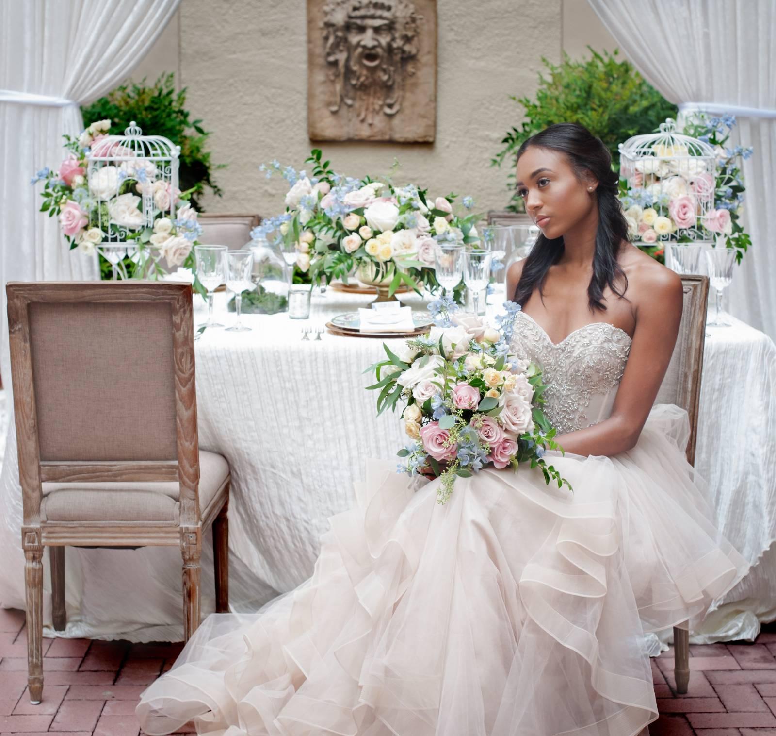 Courtyard Wedding Styled Shoot | Washington Styled Shoot