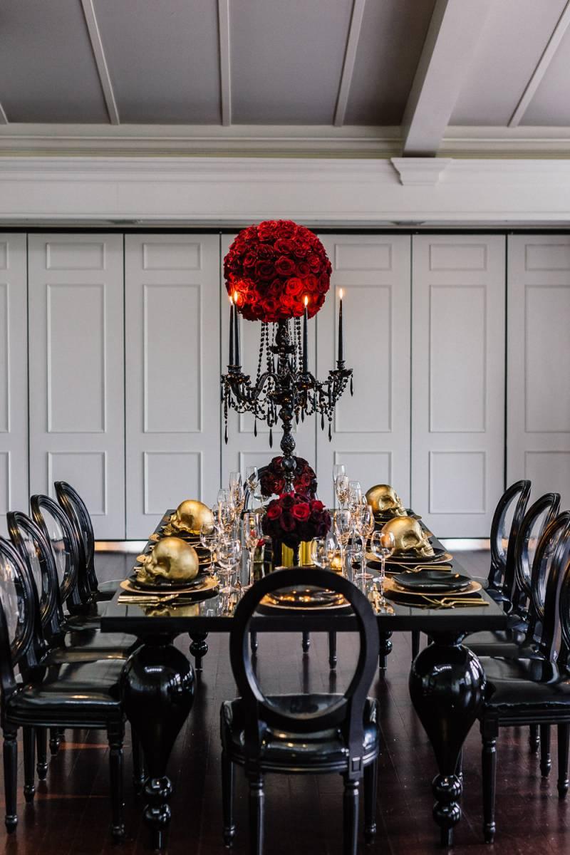 An Addams Family Halloween Wedding Styled Shoot New York Styled Shoot