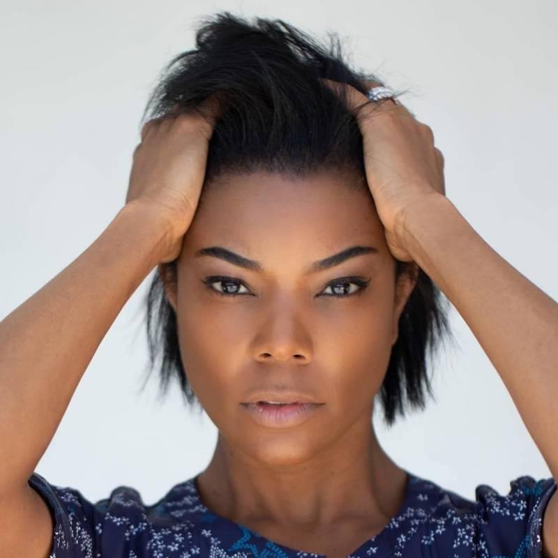Gabrielle Union Chopped Her Natural Hair Into A Flirty Bob