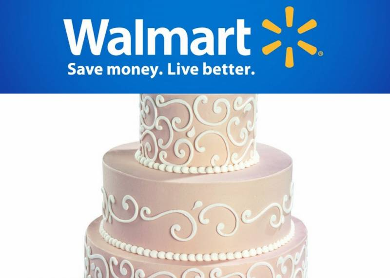 Wedding Planning Walmart Serves Up Wedding Cakes