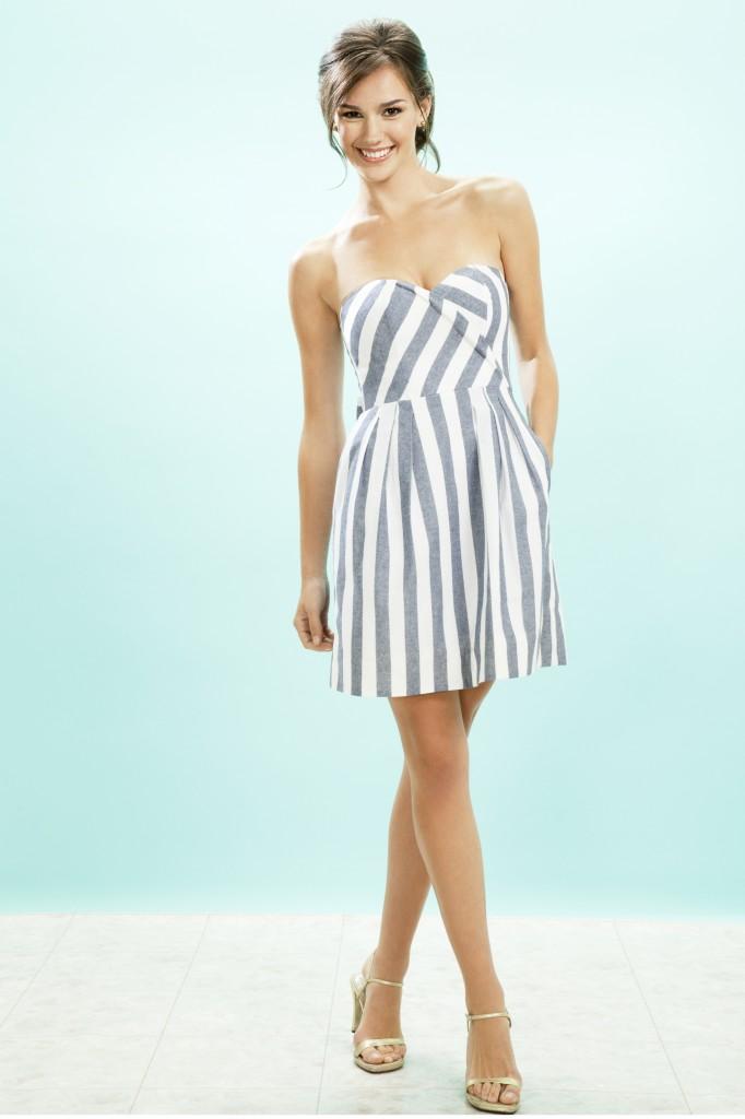 Fashion Friday: Set Sail with Nautical Bridal Looks by Kirribilla ...