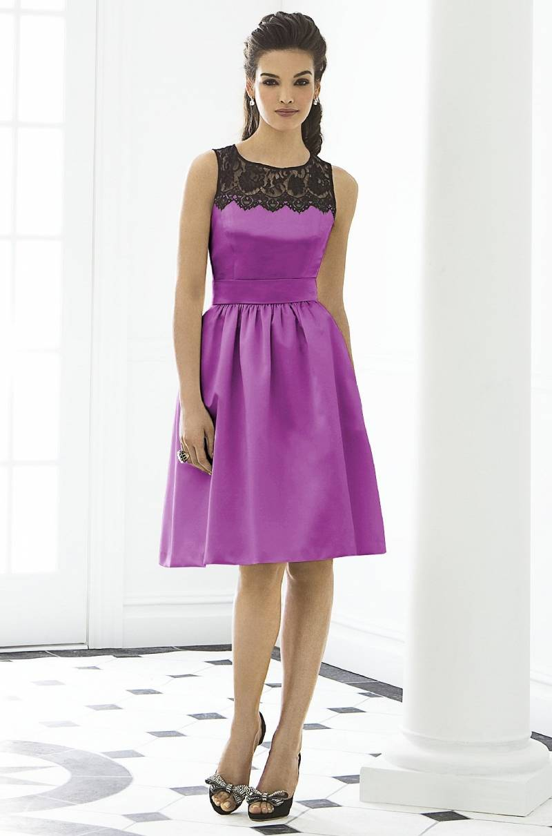 Fashion Friday: Radiant Orchid Bridesmaid Dresses with Weddington ...
