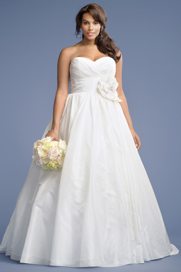 No Matter Your Style Or Shape Here Are A Handful Of Pretty Wedding Dresses For Curvy Brides That We Re Sure You Ll Love