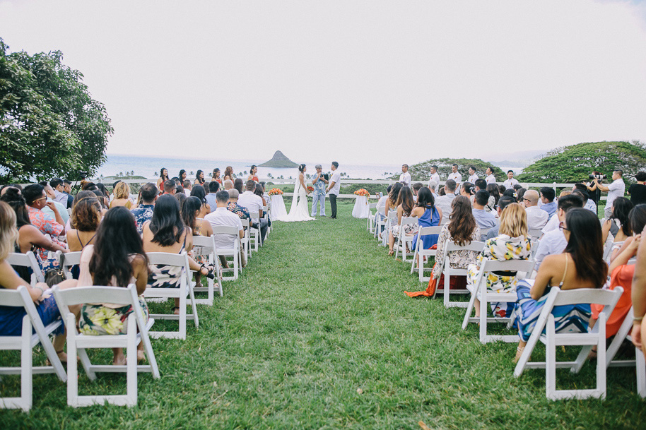 A Sparkling Kualoa Ranch Wedding